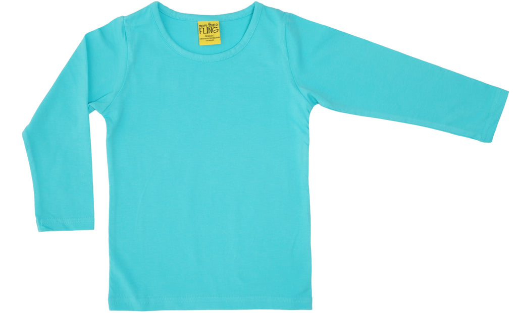 More Than A Fling Longsleeve Light Turquoise (AU19)