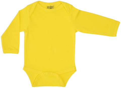 More Than A Fling Body Bright Yellow - Helder Gele Romper