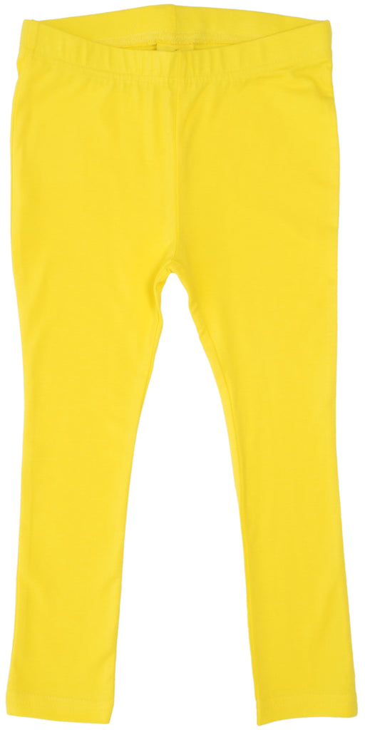 More Than A Fling Leggings Bright Yellow - Helder Geel