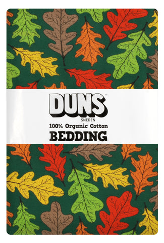 Duns Sweden - Bedding Junior Oak - Dekbedovertrek Junior Eiken bladeren
