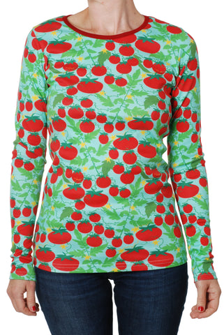 Duns Sweden - ADULT Longsleeve Tomato Turquoise - Tomaten