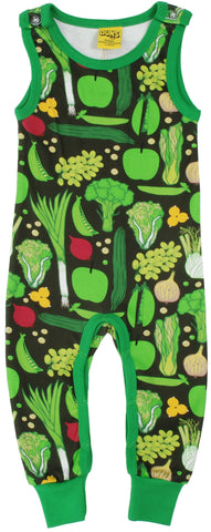 Duns Sweden - Playsuit Eat Your Greens -  Dungaree Eet je Groente