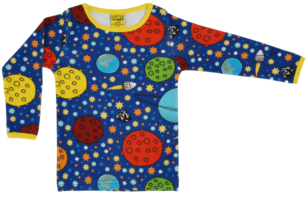 Duns Sweden - Longsleeve Lost in Space Navy