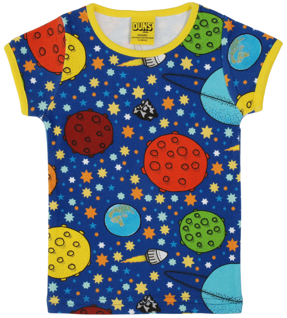 Duns Sweden - T-shirt Lost In Space - Shirtje Ruimte Planeten