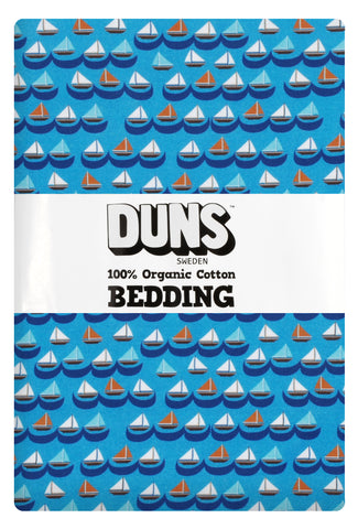 Duns Sweden - Bedding 1 person Sailing Boats Blue