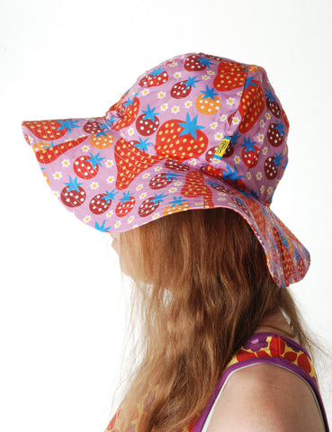 Duns Sweden - Sunhat Strawberry Fields Light Purple