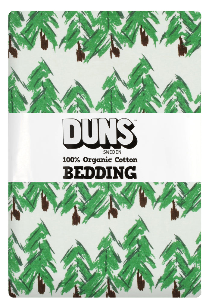 Duns Sweden - Bedding NZ- Single Pine - Dekbedovertrek 1 persoons (220x140) Dennenboom