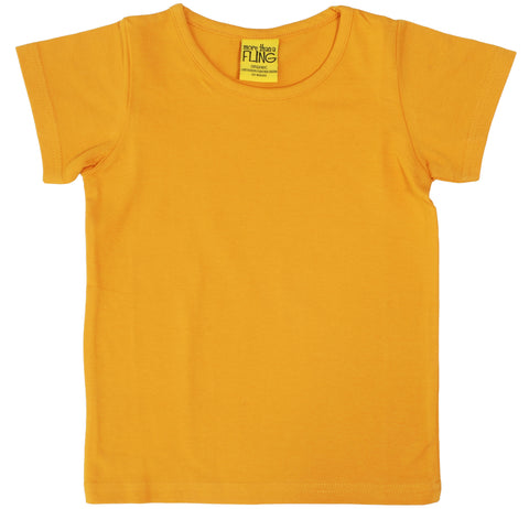 More Than A Fling T Shirt Mustard - Shirt Mosterd Geel