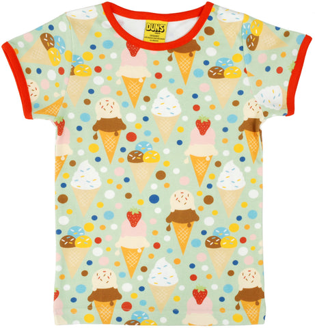 Duns Sweden - T-shirt Icecream Green