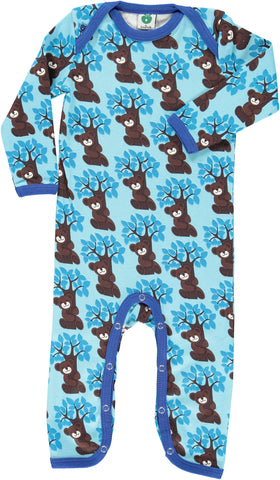 Smafolk Jumpsuit Blue Trees & Bears