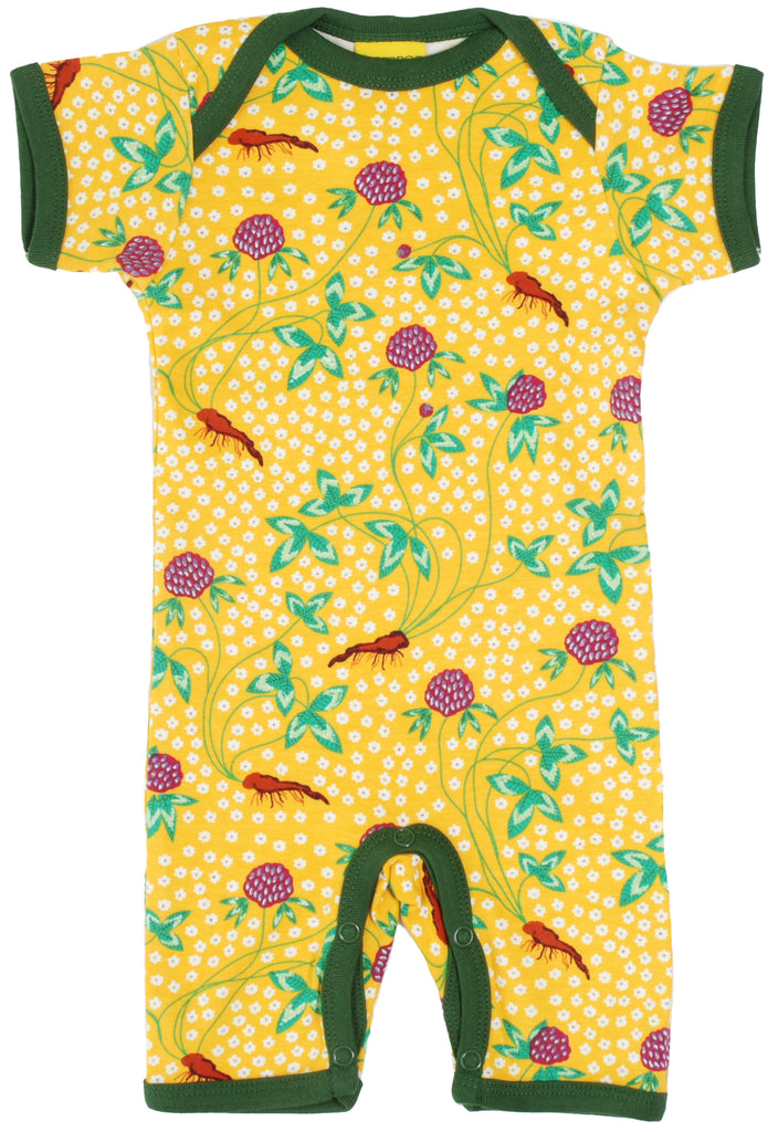 Duns Sweden - Summersuit Red Clover Yellow - Zomerpakje Klaver Geel