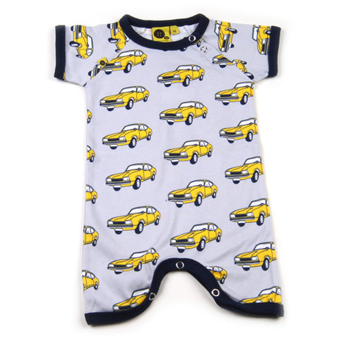 Krutter Summersuit Yellow Car