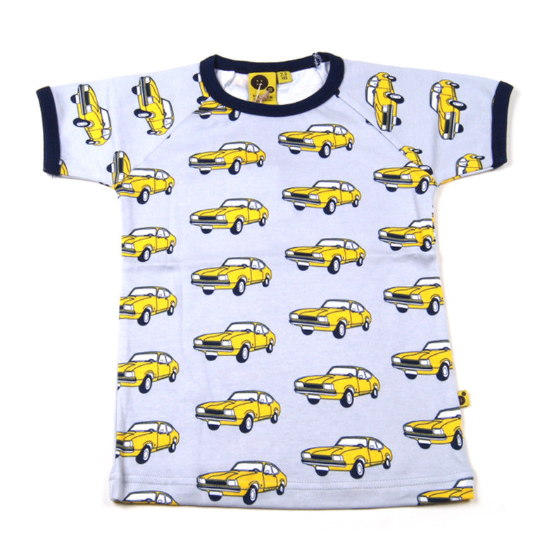 Krutter T-Shirt Yellow Car