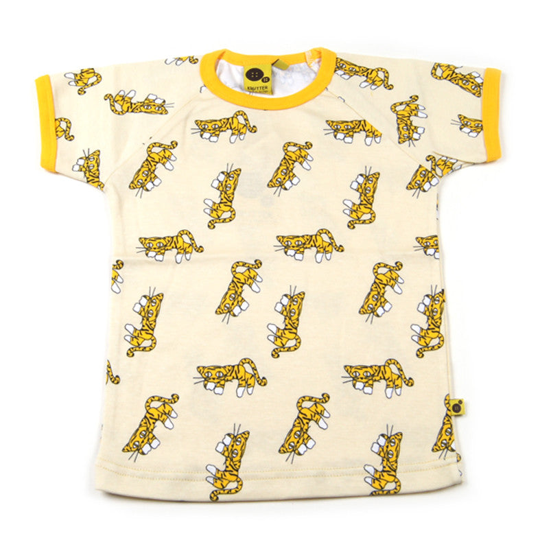 Krutter T-Shirt Yellow Leopard