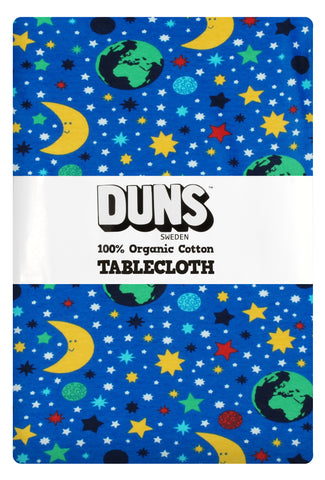 Duns Sweden Tablecloth Mother Earth Blue - Tafelkleed Sterrenhemel Blauw