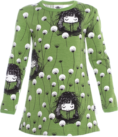 PaaPii - Vieno Tunic Bookworm Forest (98-122)