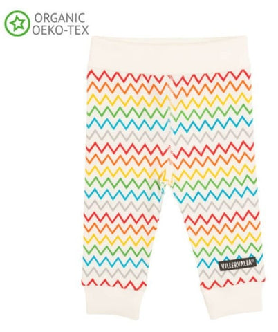 Villervalla - Broekje Zigzag - Tights with Cuff Rainbow Zigzag