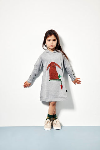Ubang Rabbit Dress - Konijn Jurk