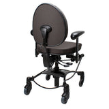 VELA Tango 200S Chair  - behind1 - dark gray