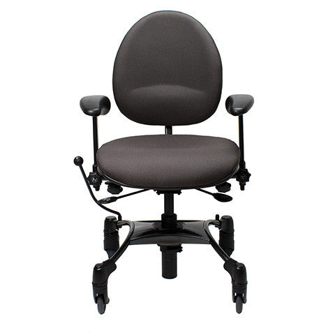 VELA Tango 200S Chair  - front - dark gray