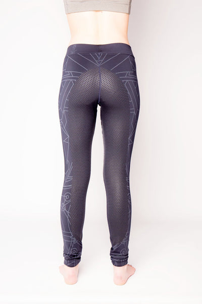 Rae Silicone Seat Leggings - Navy