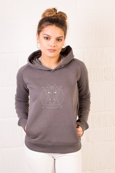 The Women's Haider Hoodie - Anthracite