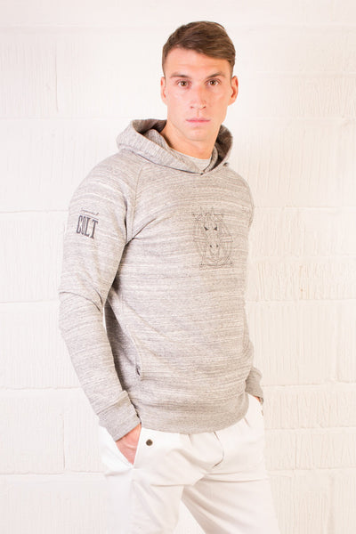 The Men's Haider Hoodie - Heather Grey