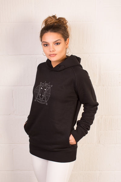 The Women's Haider Hoodie - Black