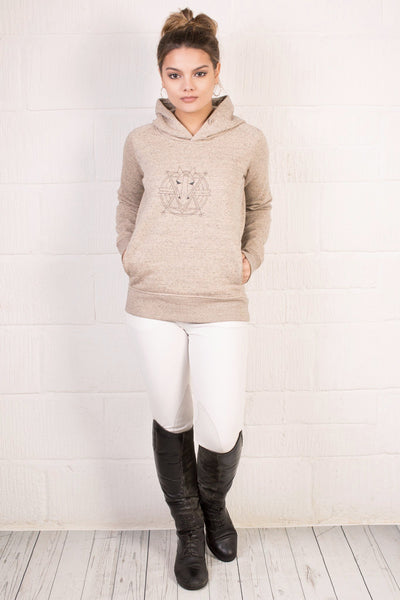 The Women's Haider Hoodie - Heather Clay