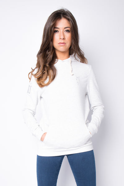 The Lightweight Everly Hoodie - Light Grey
