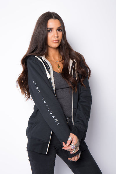 The Baylor Lined Hoodie - Black
