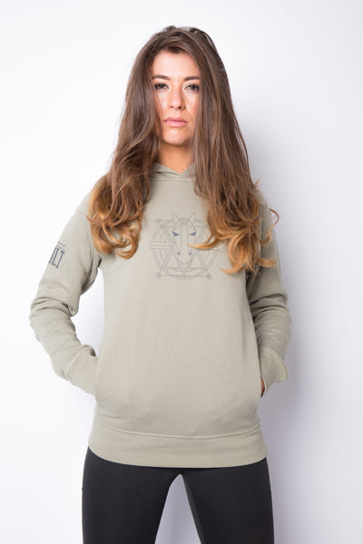 The Women's Haider Hoodie - Light Grey