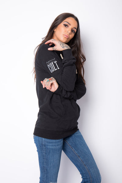 The Lightweight Everly Hoodie - Black