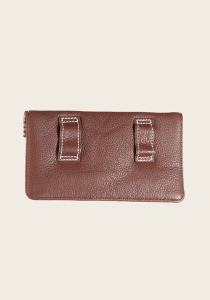 Leather Belt Phone Pouch