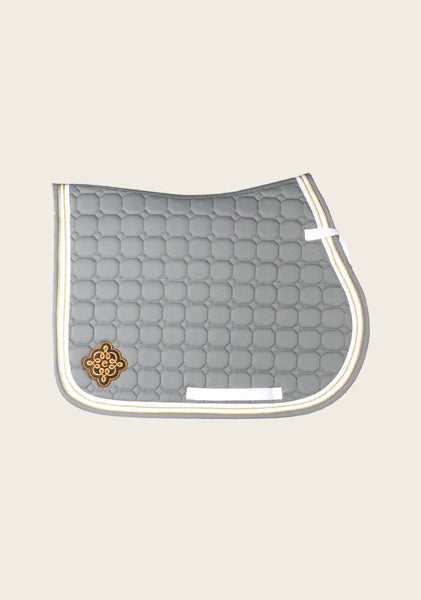 Frappant Dark Grey Saddle Pad