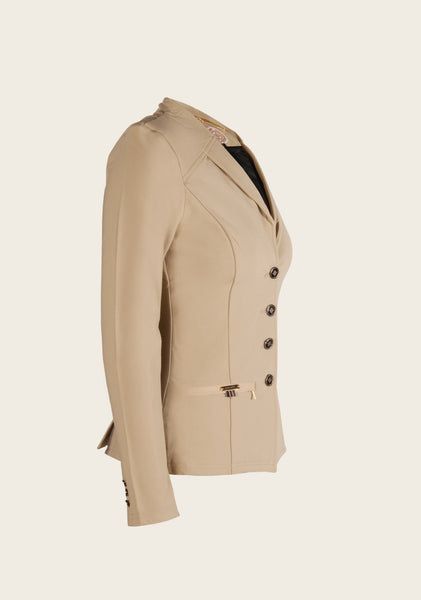 Royale Show Jacket Dark Beige