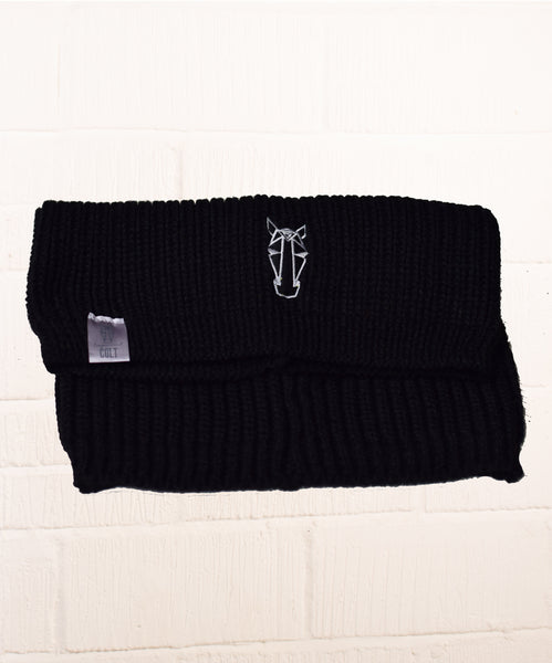Jane Snood Scarf- Black