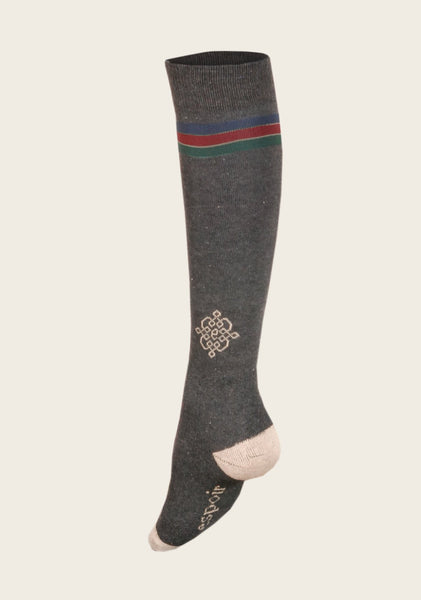 Dark Grey Riding Socks