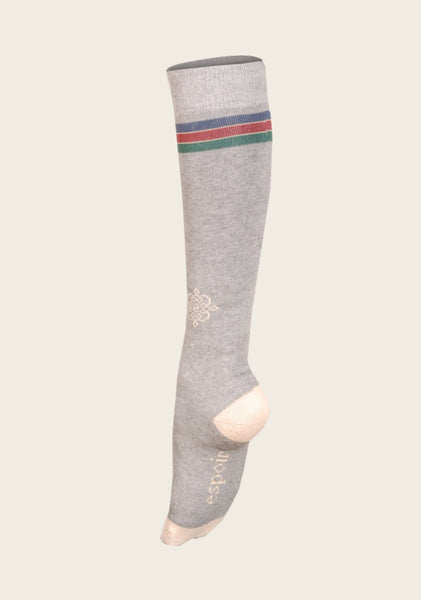 Light Grey Riding Socks