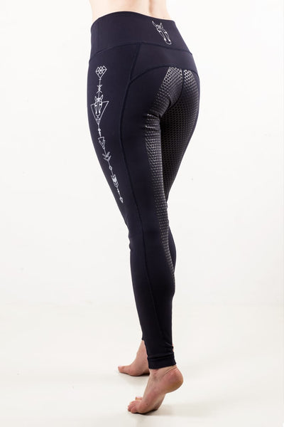 Rae COLT II Silicone Seat Leggings - Navy