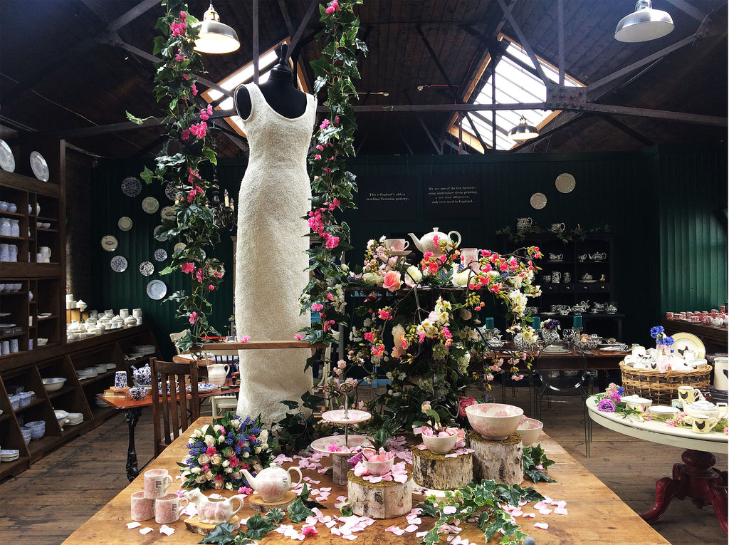 A Wedding Breakfast in the Factory Shop
