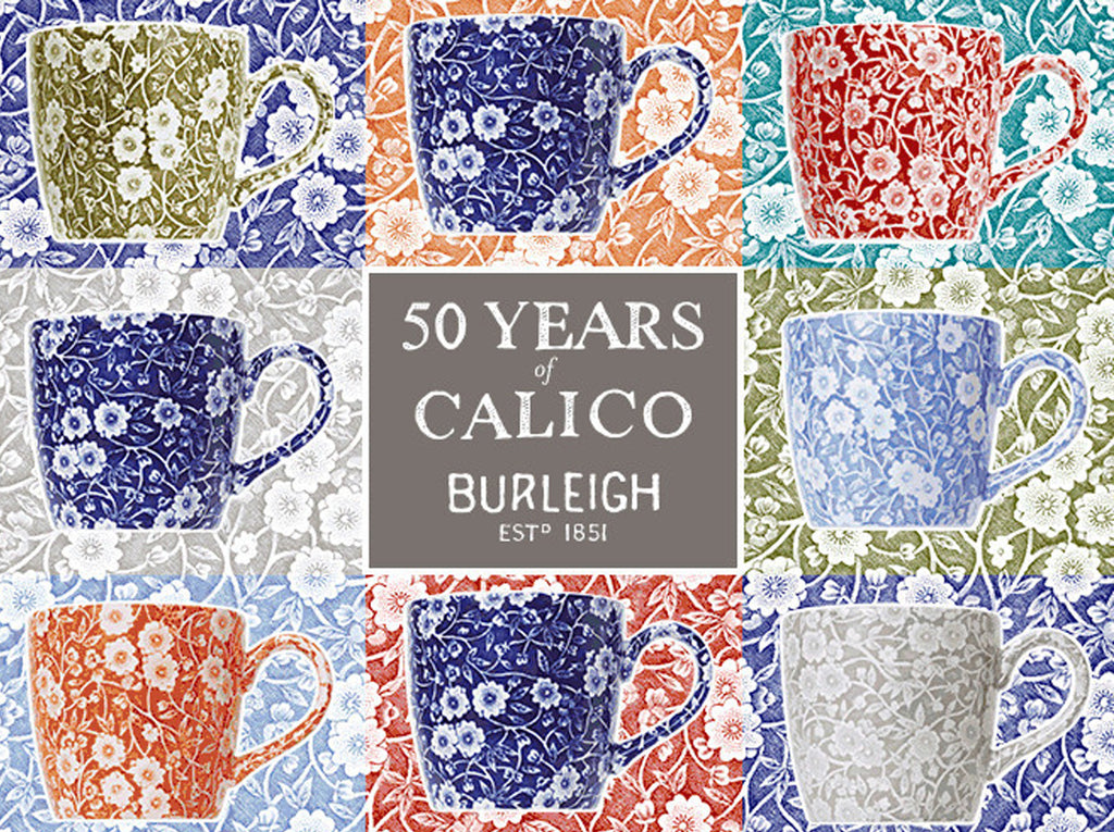 The Launch of 50th Anniversary Calico Mugs