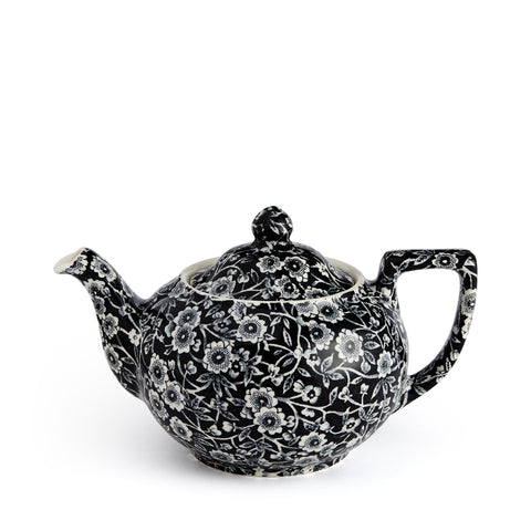 Soho Home Black Calico Small Teapot