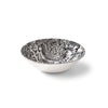 Faded Peony Black Cereal Bowl