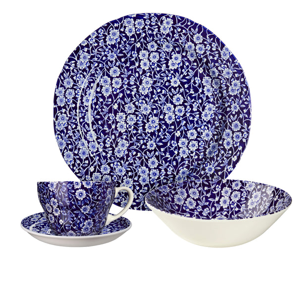Blue Calico Breakfast Set