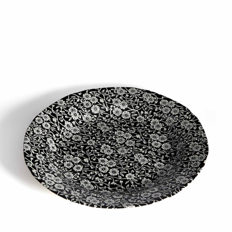 Soho Home Black Calico Dinner Plate