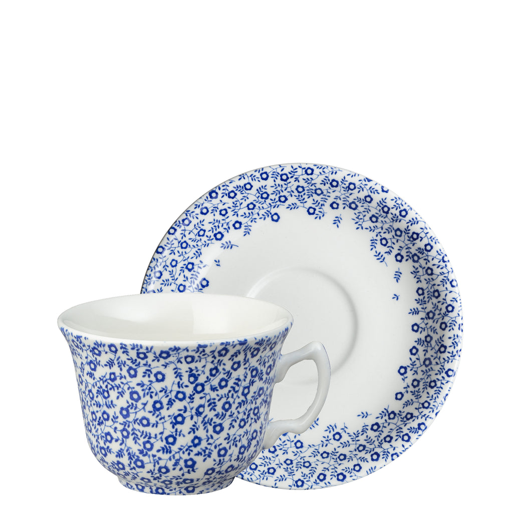 Dark Blue Felicity Teacup & Saucer