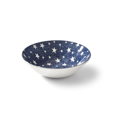 Midnight Sky Dark Blue Cereal Bowl