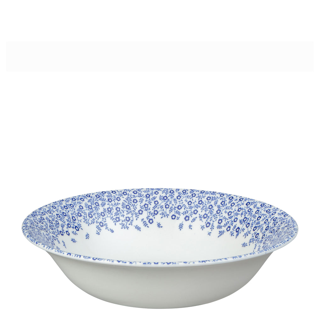 "Dark Blue Felicity Pudding/Soup Bowl 20.5cm/8"" Seconds"