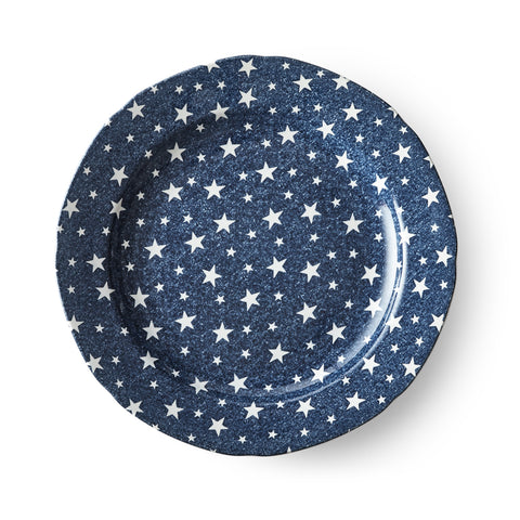 Midnight Sky Dark Blue Dinner Plate